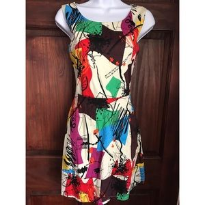 Retro mini dress